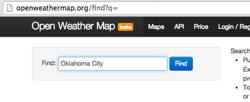 openweathermap-search