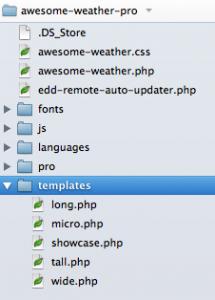 template-folder