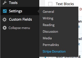 stripe-donation-settings