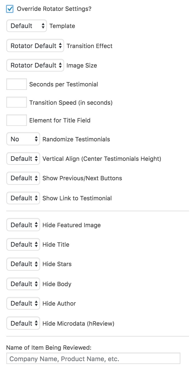 testimonial-rotator-override-settings
